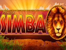 Автомат African Simba в казино Вулкан Платинум