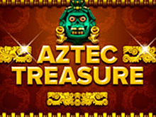 Автомат Aztec Treasure в казино Вулкан Платинум