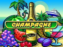 Игровой автомат Champagne в казино Вулкан Платинум