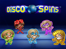Вулкан Платинум и игровой автомат Disco Spins