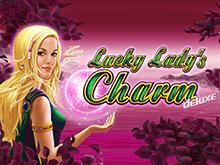 Играть в автомат Lucky Lady's Charm Deluxe в Вулкане Платинум