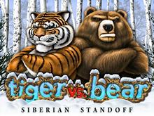 Игровой аппарат на деньги Tiger vs Bear в Вулкан