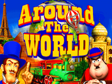 Игровой аппарат Around The World в казино Вулкан