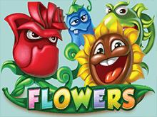 Автомат Цветы на зеркале онлайн-казино